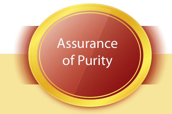sovereign gold bond assurance of purety