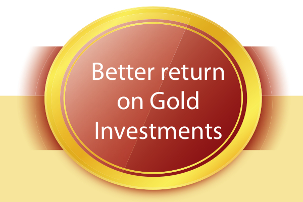 sovereign gold bond return on GOLD